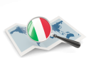 Italy magnified flag with map 256.png