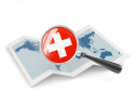 Switzerland magnified flag with map 256.png